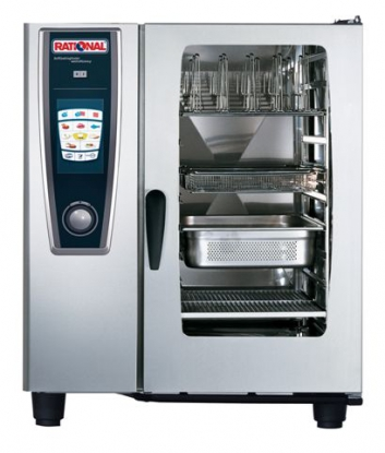 Rational Combination Oven Scc101g Gas 10 Grid